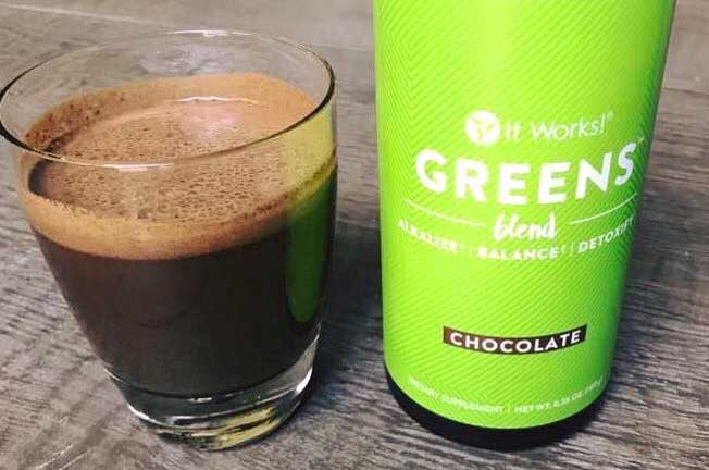 IT Works Chocolate greens blend