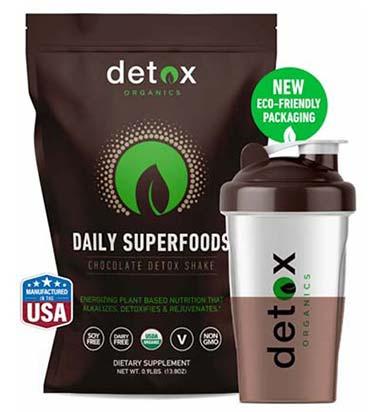 Detox Organics chocolate superfood
