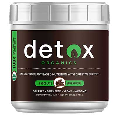 Detox Organics Chocolate greens