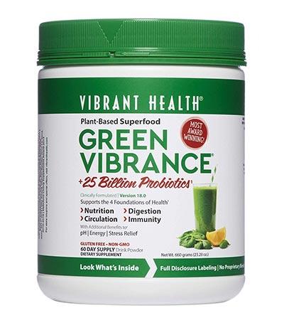 Green Vibrance tub