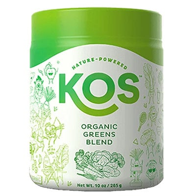 KOS Greens powder blend