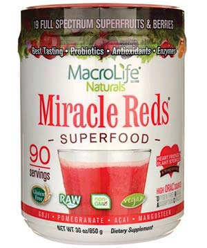 Miracle Reds Supplement