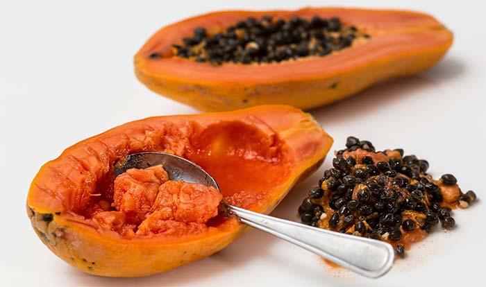 Healthy papaya
