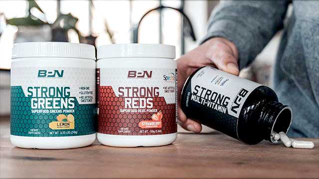 BPN Strong Greens and Reds
