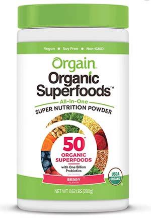 Orgain Superfood powder