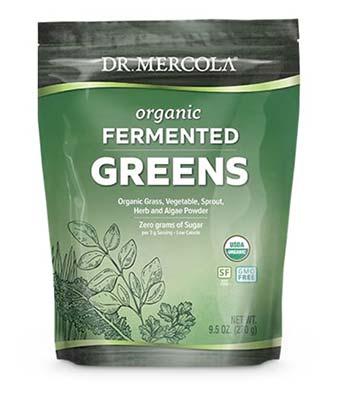 Dr Mercola Fermented Greens supplement