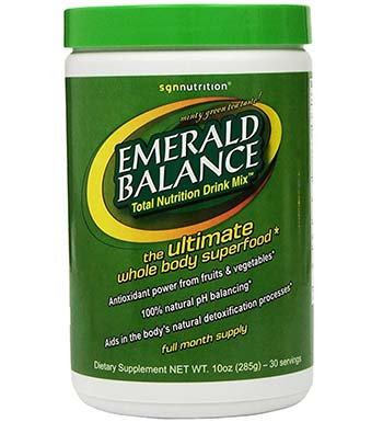 Emerald Balance Greens review