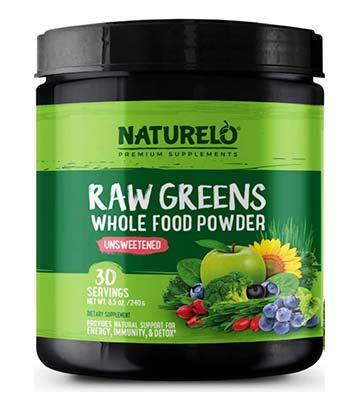 Naturelo Raw Greens review