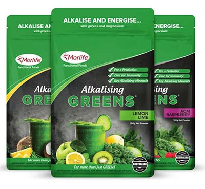 Alkalising Greens packets