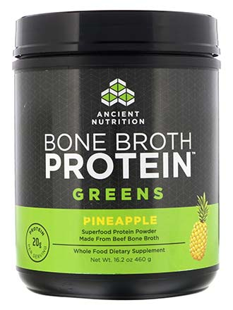 Bone Broth Protein Greens tub