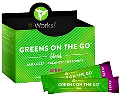 Greens on the go blend review