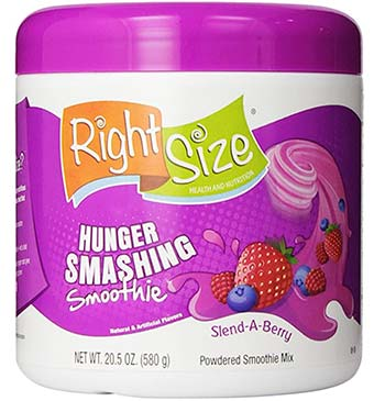 RightSize Smoothie drink