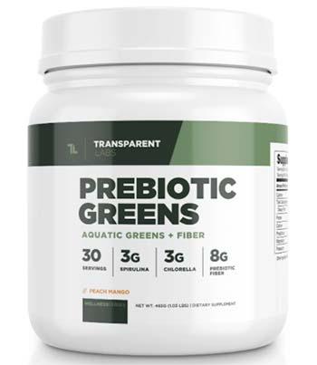 Transparent Labs Prebiotic Greens