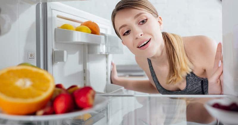 Storing greens powders in the fridge
