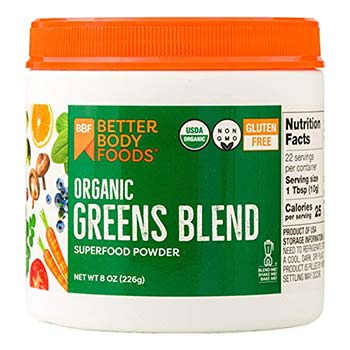 Better Body Foods Greens Powder