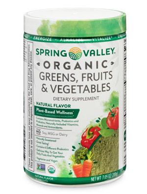 Spring Valley Organic Greens