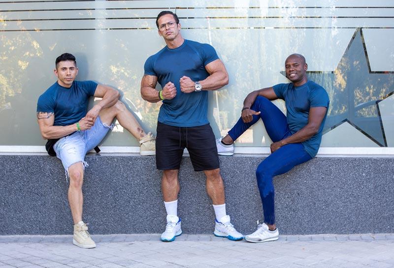 Athletic dudes